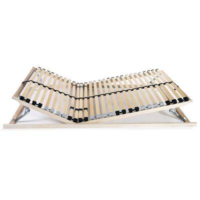 vidaXL Podnice za krevet 2 kom s 28 letvica i 7 zona 80 x 200 cm