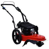 vidaXL Benzinska kosilica za visoku travu s motorom od 173 cm³