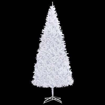 vidaXL Umjetno božićno drvce 500 cm bijelo