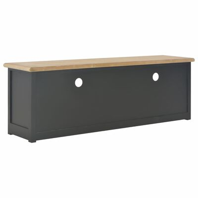 vidaXL TV ormarić crni 120 x 30 x 40 cm drveni