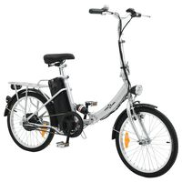 Sklopivi električni bicikl s litij-ionskom baterijom legura aluminija