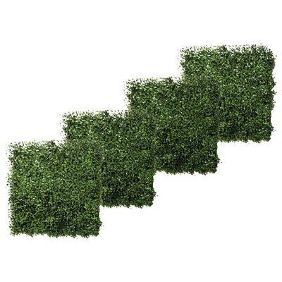 Emerald prostirke od umjetnog šimšira 4 kom zelene 50 x 50 cm 417980
