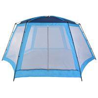 vidaXL Šator za bazen od tkanine 660 x 580 x 250 cm plavi
