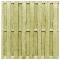 vidaXL Panel za ogradu od borovine 180 x 180 cm zeleni