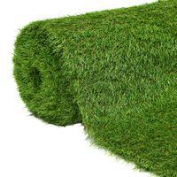vidaXL Umjetna trava 1 x 5 m / 40 mm zelena