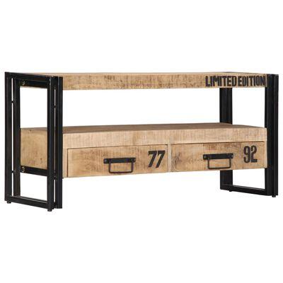 vidaXL TV ormarić od masivnog drva manga 100 x 30 x 45 cm