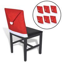 6 Djed mraz presvlaka za stolice