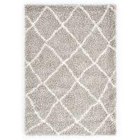 vidaXL Čupavi berberski tepih PP boja pijeska i bež 160 x 230 cm