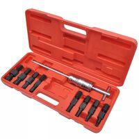 Zatezalo ležajeva za slijepe rupe, komplet alata od 9 komada