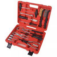 vidaXL 15-dijelni set alata za održavanje i montažu kočnica