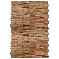 vidaXL Ploče za zidne obloge od reciklirane tikovine 20 kom 2 m²