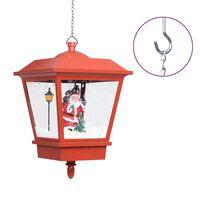 vidaXL Božićna viseća svjetiljka s Djedom Mrazom LED 27 x 27 x 45 cm