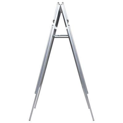 vidaXL Stalak za plakate A1 sa zaglavljem aluminijski