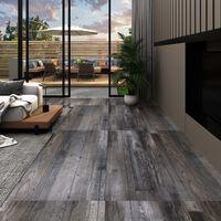 vidaXL Podne obloge od PVC-a 5,26 m² 2 mm boja industrijskog drva