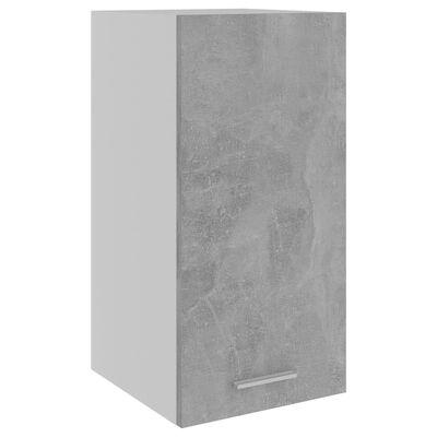 vidaXL Viseći ormarić siva boja betona 29,5 x 31 x 60 cm od iverice