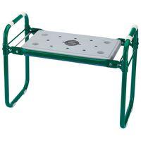 Draper Tools vrtna sjedalica / podloga za klečanje željezna zelena