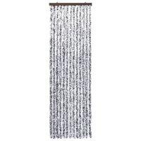 vidaXL Zastor protiv insekata smeđi-bež 120 x 220 cm šenil
