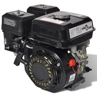 Benzinski motor 6,5 KS 4,8 kW crni