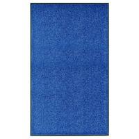 vidaXL Otirač perivi plavi 90 x 150 cm