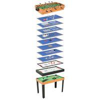 vidaXL 15-u-1 stol s više igara 121 x 61 x 82 cm boja javora