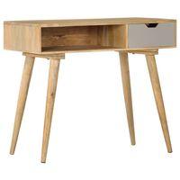 vidaXL Konzolni stol od masivnog drva manga 89 x 44 x 76 cm