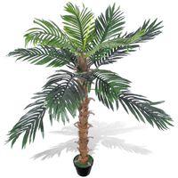Umjetna Biljka Kokosova Palma s Posudom 140 cm