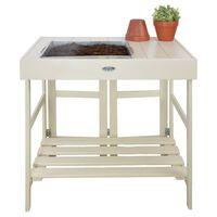 Esschert Design stol za sadnju bijeli