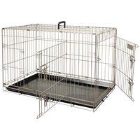 FLAMINGO kavez za kućne ljubimce Ebo metalik smeđi 77x47x55 cm 517581