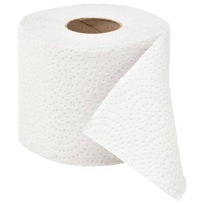 vidaXL Dvoslojni reljefni toaletni papir 128 rola 250 listića