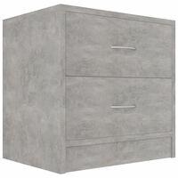 vidaXL Noćni ormarić siva boja betona 40 x 30 x 40 cm od iverice