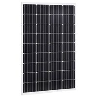 vidaXL Solarna ploča monokristalna 120 W aluminij i sigurnosno staklo
