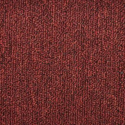vidaXL Tepisi za stepenice 15 kom crveni 56 x 17 x 3 cm