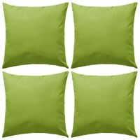 vidaXL Vrtni jastuci 4 kom 45 x 45 cm zeleni