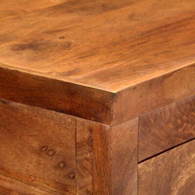 vidaXL Kuhinjska kolica od masivnog bagremovog drva 100 x 48 x 89 cm
