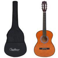 "vidaXL Klasična gitara za početnike s torbom 3/4 36 """