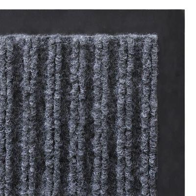 Sivi otirač protiv klizanja za vrata 120 x 180 cm