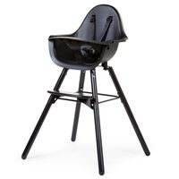 "CHILDHOME 2-in-1 Baby High Chair ""Evolu 2"" Black"