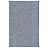 vidaXL Čupavi tepih 190 x 290 cm plavi