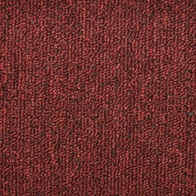 vidaXL Tepisi za stepenice 15 kom crveni 65 x 24 x 4 cm