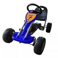 vidaXL Go Kart Auto s Pedalama Plavi
