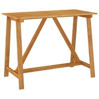 vidaXL Vrtni barski stol 140 x 70 x 104 cm od masivnog bagremovog drva