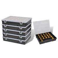 Kutije za Odlaganje i Sortiranje 6 kom