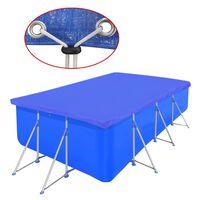 Bazenski pokrivač pravokutni PE 90 g/sqm 400 x 207 cm
