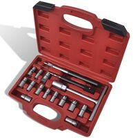 17-dijelni set alata za rezanje kućišta injektora, za diesel vozila