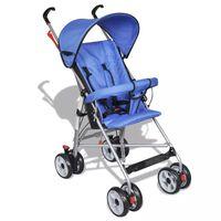 Moderna plava kolica za bebe