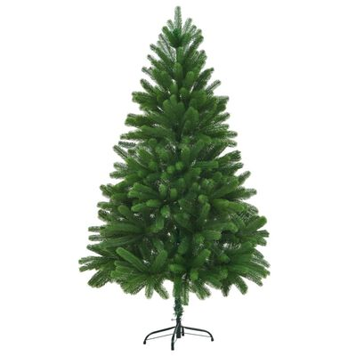 vidaXL Umjetno Božićno Drvce Realistične Grančice 210 cm Zeleno