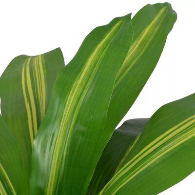 vidaXL Umjetna biljka Dracena s posudom 90 cm Zelena