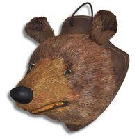 Zidni ukras u obliku glave medvjeda