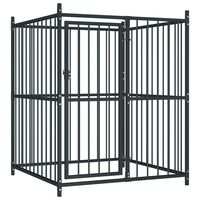 vidaXL Vanjski kavez za pse 120 x 120 x 150 cm