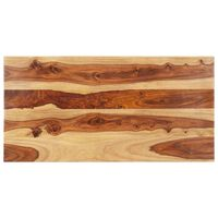 vidaXL Stolna ploča od masivnog drva šišama 25 - 27 mm 60 x 120 cm